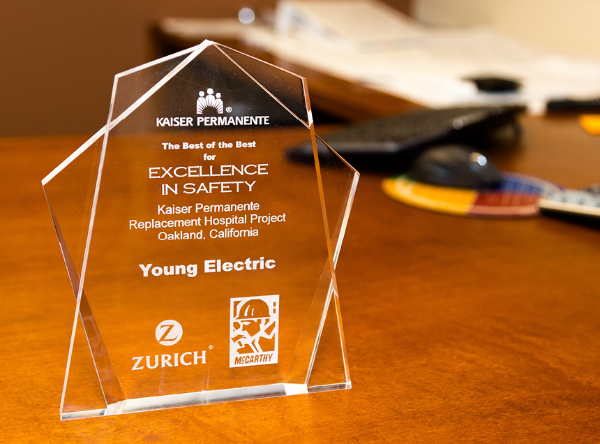 Kaiser Permanente; Excellence In Safety Award